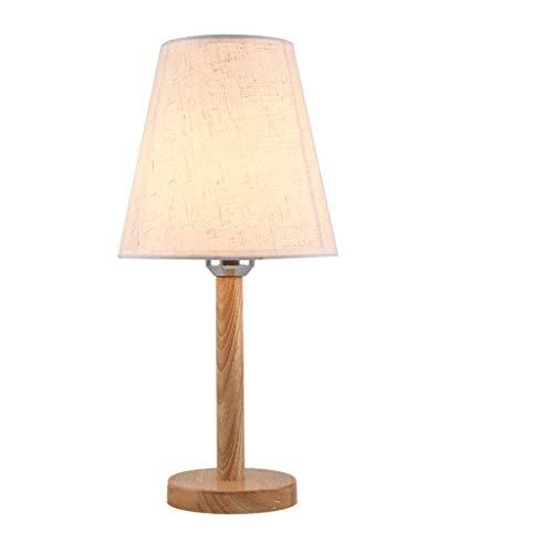 SPNEC Sólido Study Desk Madera lámpara de Escritorio de Oficina de Escritorio del Dormitorio lámpara de cabecera de la Personalidad Simple Estudio