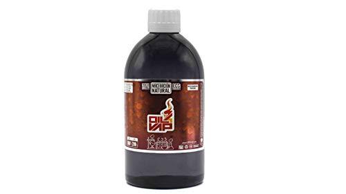 Base para liquido de cigarrillo electronico OIL4VAP 500ml SIN NICOTIINA 20% propilenglicol 80% glicerina
