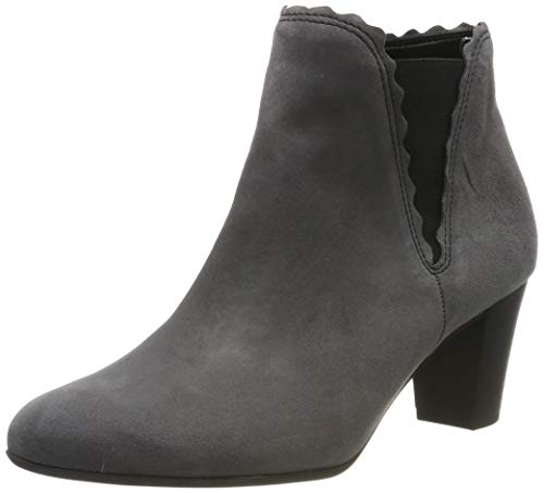 Gabor Shoes Damen Comfort Fashion Stiefeletten, Grau (Dark-Grey (Micro) 39), 39 EU