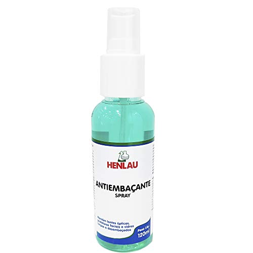 Antiembaçante para Lentes Spray Henlau 120 ml