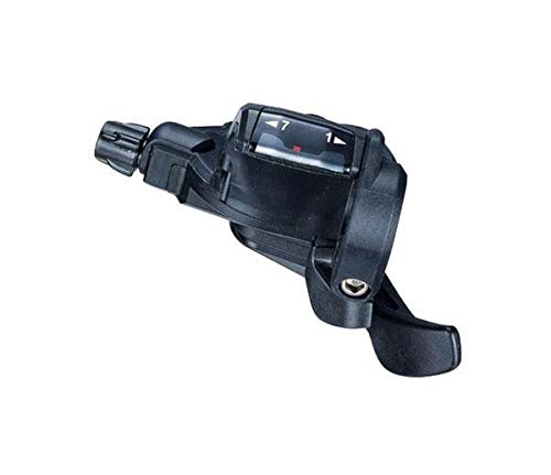 Microshift Trigger TS38-7 palancas de Cambio, Deportes y Aire Libre, Negro, 7 v