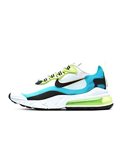 Nike Herren Air Max 270 React Se Laufschuh, Oracle Aqua/Black-Ghost Green, 43 EU