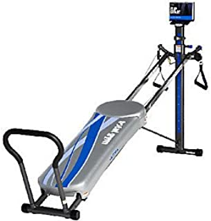 Total Gym Ultima with 10 Attachments 2 Floor Mats and 3 DVD's