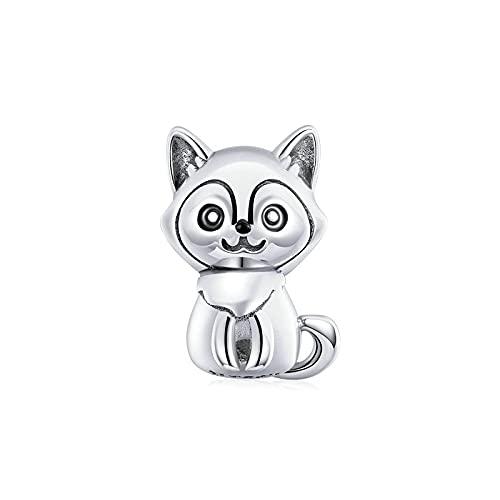 DIY 925 Sterling Jewelry Charm Beads Lovely Dog Cute Pet Make Original Pandora Collares Pulseras Y Tobilleras Regalos para Mujeres
