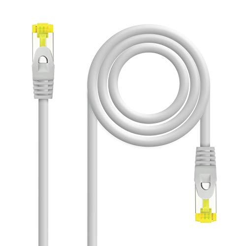 NanoCable 10.20.1903 - Cable de Red Ethernet RJ45 LSZH Cat.6A SFTP, AWG26,...