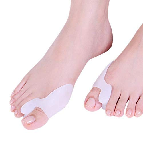 4 PCS Bunion Corrector Big Toe Spreader Cushion, Toe Separator, Bunion Guard, Diabetic Foot Care, Separate for Toes