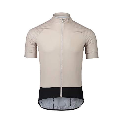 POC Camiseta Essential Road Jersey para Hombre, Hombre, Camiseta, PC582118328LRG1, Poc O Lt Sandstone Beige, Large