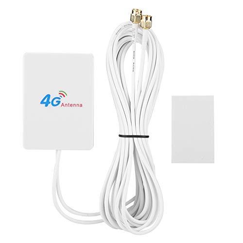 Diyeeni 4G LTE-antenne, 28 dBi SMA-buitenantenne met externe versterkerkabel, high-gain-antenne, rondstantenne voor wifi-router/mobiele broadband/hotspot-device-server-assistent