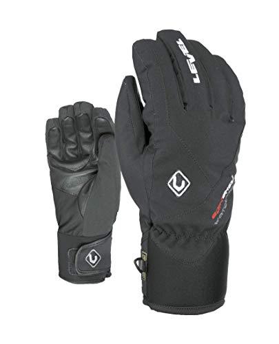Level Herren Force Handschuhe, Schwarz, FR : S-M (Taille Fabricant : 7,5 - SM)