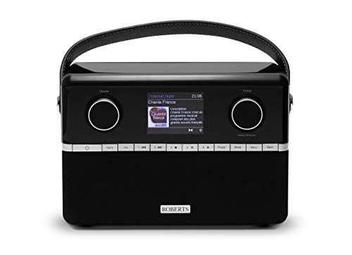 Roberts Stream94i DAB+ DAB FM Internet Radio with Spotify Connect and Added Bluetooth - Black