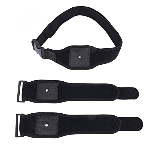 YHJIC Vr Tracking Belt and Tracker Belts for Vive System Tracker Putters - Adjustable Belts and Straps for Waist, Virtual Reality Body Tracking (1x Belt and 2X Straps)