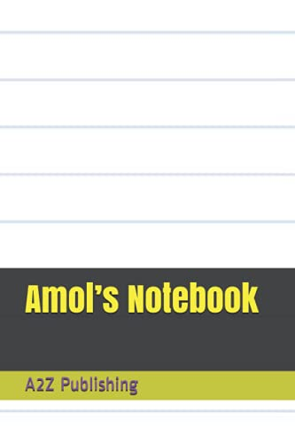 Amol's Notebook