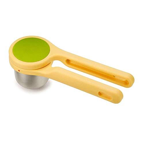 YFGQBCP Helix Juicer exprimidor de cítricos, Apto for Exprimir Limones y limas Amarillo y Verde
