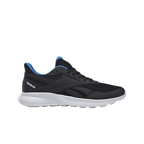 Reebok Quick Motion 2.0, Zapatillas de Running para Hombre, NEGRO/TRUGR7/HORBLU, 43 EU