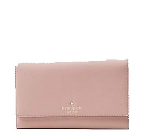 Kate Spade Mikas Pond Phoenix Travel Wallet Trifold Pink Bonnet