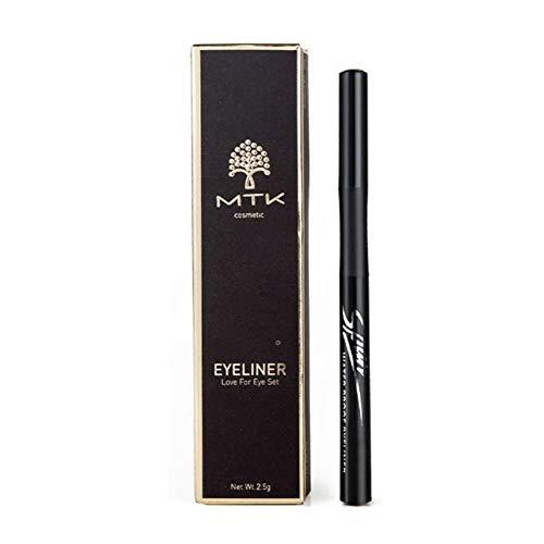 Nourich Longue Durée Eyeliner Liner,Professionnel Imperméable Eye-liner liquide Non Blooming liquide Pen Eyeliner Résistant à la sueur Eyeliner Pen Maquillage Cosmétique (01#)