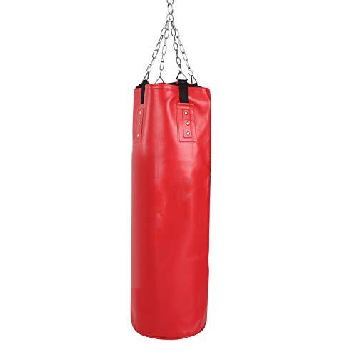 Boxningssäckar, Fight Bag Thicken Boxing Sandbag, Tomt fokus för barnbarn tonåringar(100CM)