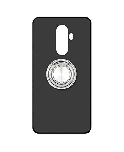 Sunrive Kompatibel mit Wileyfox Swift 2 X Hülle Silikon, 360°drehbarer Ständer Ring Fingerhalter Fingerhalterung Handyhülle matt Schutzhülle Etui Hülle (A2 Silberig) MEHRWEG