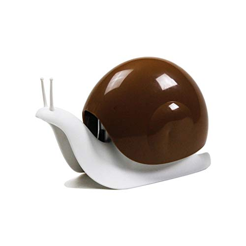 Dispensador de jabón Creativo en forma de caracol Botella de gel de ducha Splitter Champú Desinfectante de manos Dispensador de jabón negro Dispensador de la bomba de jabón de baño ( Color : Brown )