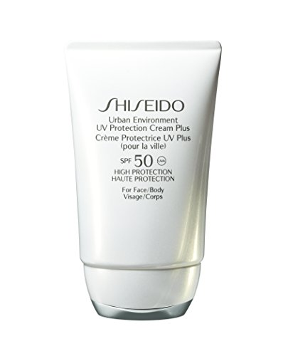Shiseido Sun Care Urban Environment UV Protection Cream Plus SPF 50 Sonnencreme, 50 ml