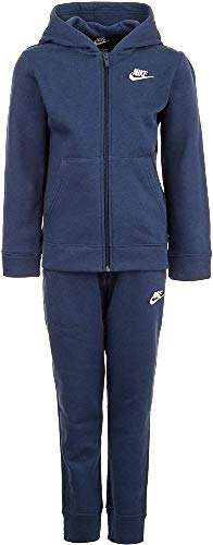 Nike Jungen Tracksuit U NSW Core BF Trk Suit, Carbon Heather/Dark Grey/Carbon Heather/(White), XS, BV3634