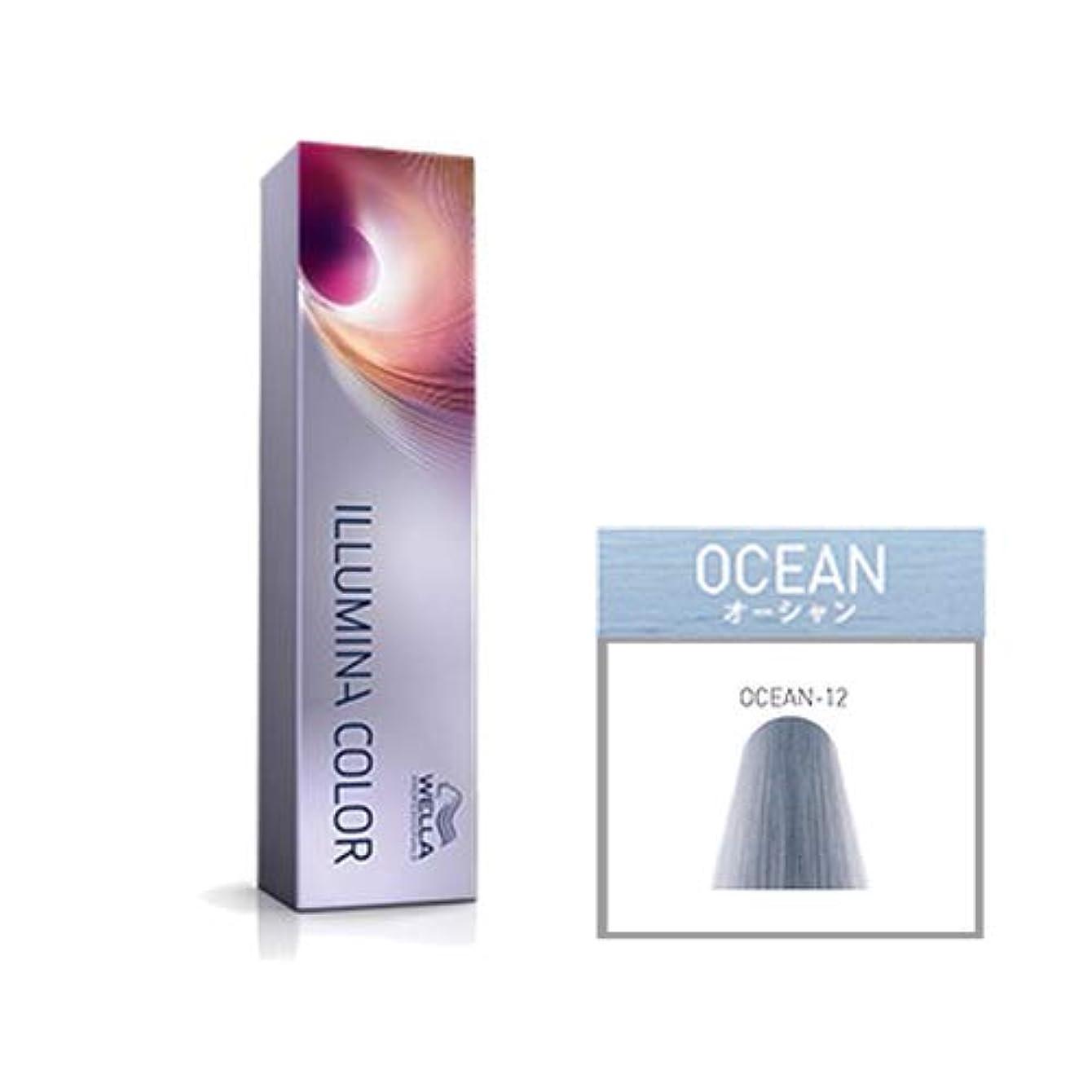 害あからさま光沢ウエラ プロフェッショナル イルミナ カラー オーシャン OCEAN-12 80g