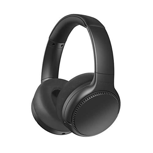 Panasonic RB-M700BE-K Bluetooth Over-Ear Kopfhörer (Noise Cancelling, Sprachsteuerung, Bass Reactor, 1,2 m Kabel, bis 20 h Akkulaufzeit) schwarz