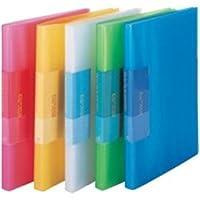 (業務用10セット) ビュートン 薄型クリアファイル/ポケットファイル 〔A4〕 40ポケット FCB-A4-40C ブルー(青)
