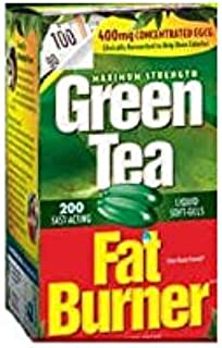 Applied Nutrition Green Tea Fat Burner with EGCG, 400mg ( 200 Soft gels )