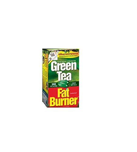 Applied Nutrition Green Tea Fat Burner with EGCG, 400mg ( 200 Soft...