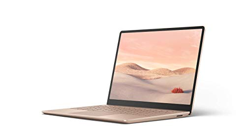 "Microsoft Surface Laptop Go Ultra-Thin 12.4"" Touchscreen Laptop (Sandstone) - Intel 10th Gen Quad Core i5, 8GB RAM, 128GB SSD, Windows 10 Home in S Mode, 2020 Edition"