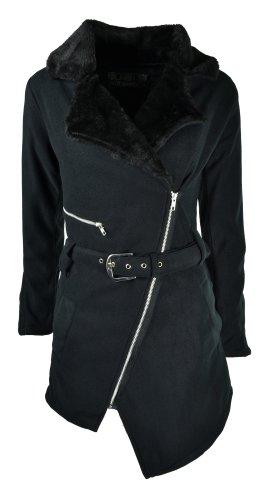 Vixxsin Mantel NEA Coat Schwarz XL
