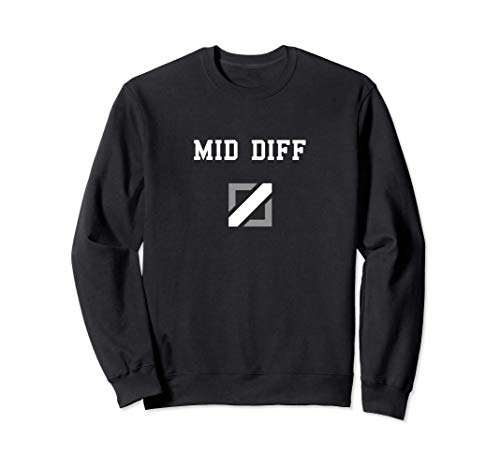 MID DIFFERENCE MID DIFF MIDDLE DIFF GAP Sudadera