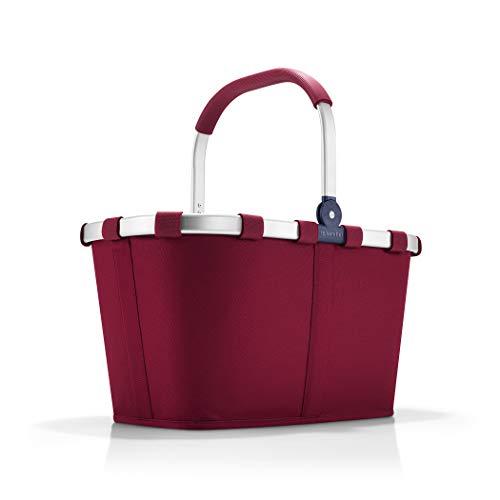 reisenthel carrybag dark ruby Maße: 48 x 29 x 28 cm/Volumen: 22 l