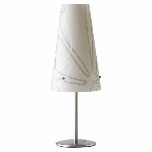 Brilliant 02747/22 Lampe à Poser ISI E14 Gris