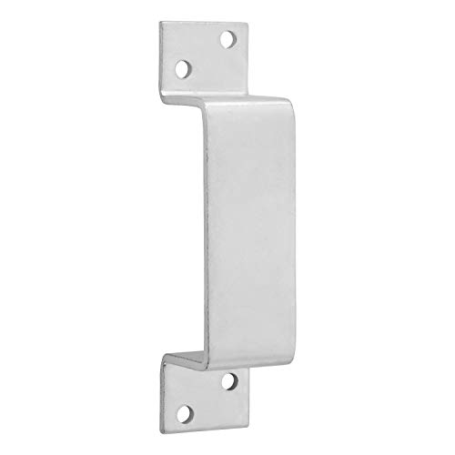 National Hardware N100-743 Closed Bar Holder For Use With 2x4 For doors, Zinc