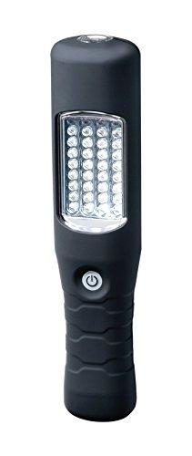 Brennenstuhl 1175390 Lampe portative 36+1 LED IP54 avec bloc d'alimentation