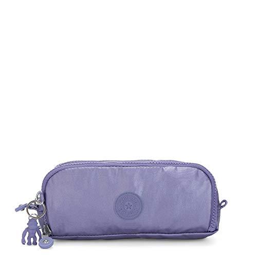 Kipling Gitroy Metallic Pencil Case Metallic Purple