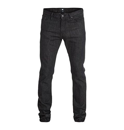 DC Shoes Mens Shoes Worker Basic Slim Jean Black Rinse 32 - Jeans - Men - 34 - Black Black Rinse 34