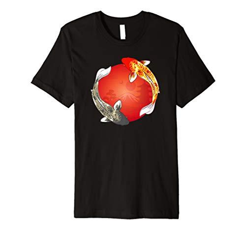 Koi Karpfen T-Shirt für Teich & See | Japan Fische Asien