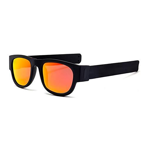 FairOnly Gafas de sol polarizadas plegables con colores deslumbrantes para exteriores, diseño...