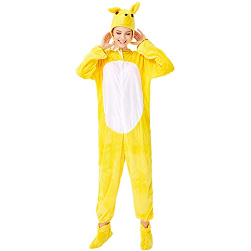 Adult Halloween Costumes for Couples Cartoon Animal Costume Plush One-Piece Cosplay Pajamas Christmas Onesies Cosplay