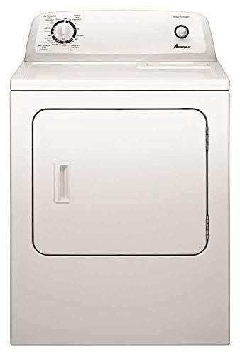 amana load washers AMANA NED4655EW 6.5 cu. ft. Front Load Electric Dryer with 11 Drying Cycles, White