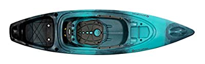 """Perception Sound 9.5   Sit Inside Kayak for Fishing and Fun   Two Rod Holders   Large Rear Storage   9' 6"""""""
