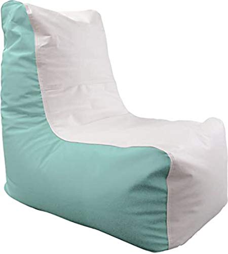 Ocean-Tamer Small Wedge Marine Bean Bag (White/Seafoam)