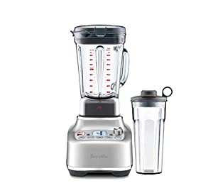 breville blender super q, brushed stainless steel
