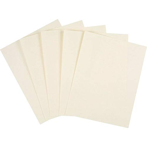 Staples 620700 Cover Stock Paper 67 Lbs 8.5-Inch X 11-Inch Cream 250/Pack (82997)