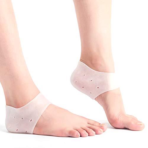 Fersenschutz-Überzug für Ferse, Stoßdämpfung, Fersenpflege, schöner Fuß, Plantarfasziitis, Einlegesohle, Fußschmerzreduzierung, Unisex, 1 Paar