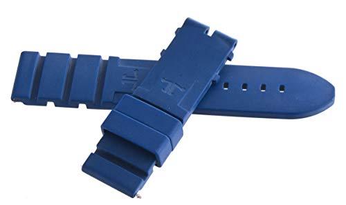 Jaeger LeCoultre para Hombre Negro de Fibra de Carbono Piel Reloj Banda 22mm x 20mm
