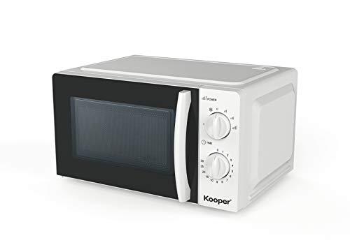 Kooper Forno a microonde 20 l 700 W, 20 Litri, Acciaio